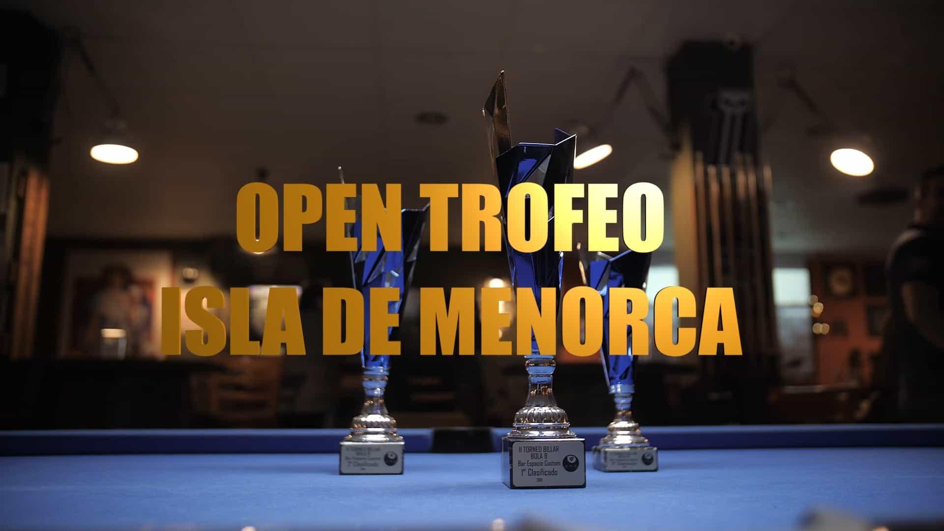 Open Trofeo Isla Menorca